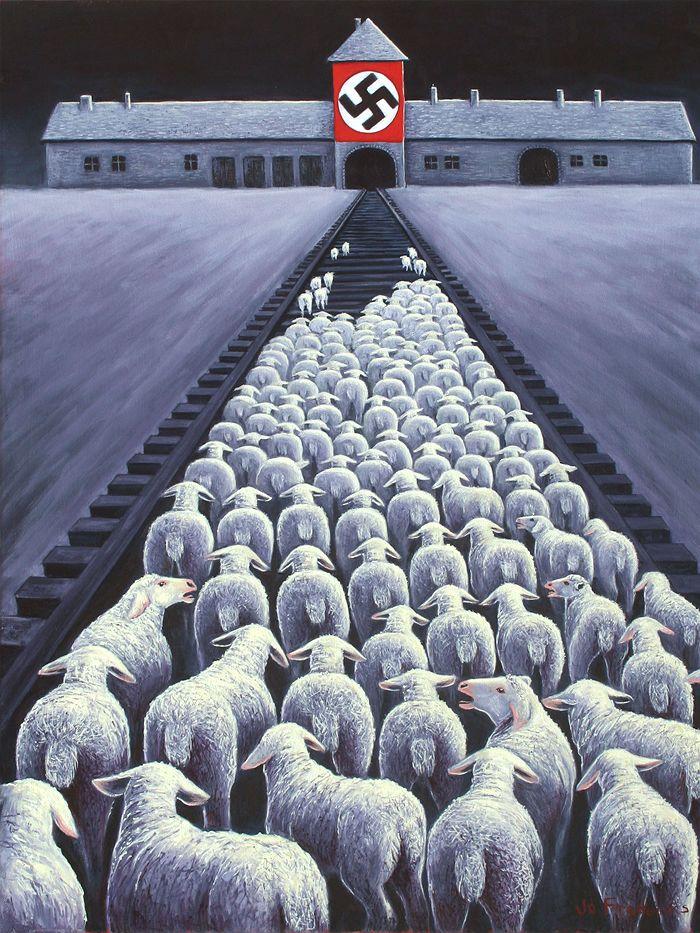 Obra de la artista de Nueva Gales del Sur, Jo Frederiks - publicada en abc.net.au